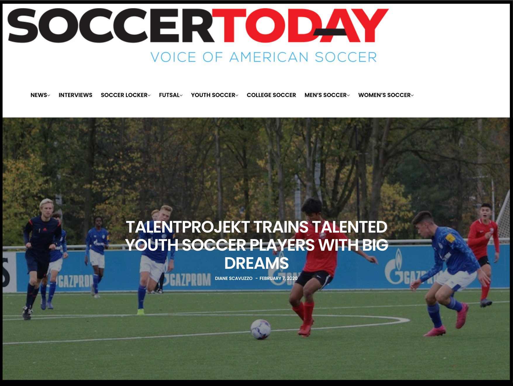 Soccer Today Article Feb 2020