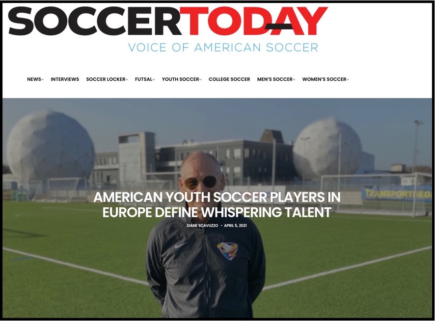 Soccer Today Article Whispering Talent